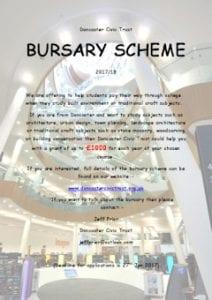 Student Bursary Scheme Poster